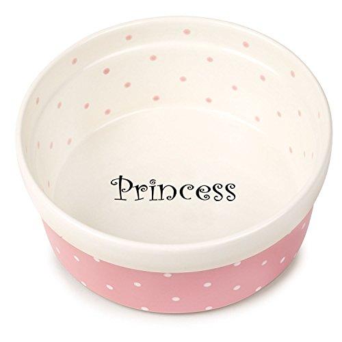 Pet Studio Polka Dot Dishes Whimsical Ceramic Dishes For