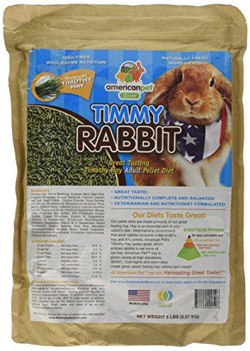 Timmy Rabbit Pellet 5 Pound Blue Pets Trend Store