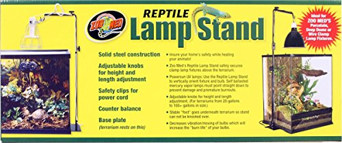 Zoo Med Reptile Lamp Stand Full Size Pets Trend Store