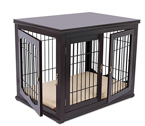 Espresso Dog Kennel