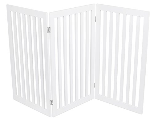 Internet S Best Traditional Pet Gate 3 Panel 36 Inch