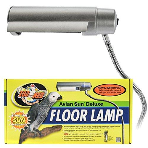 Zoo Med Aviansun Deluxe Floor Pet Lamp Pets Trend Store